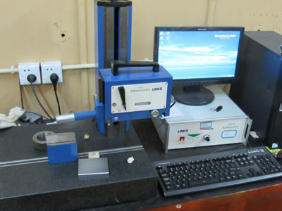 Roughness measuring equipment